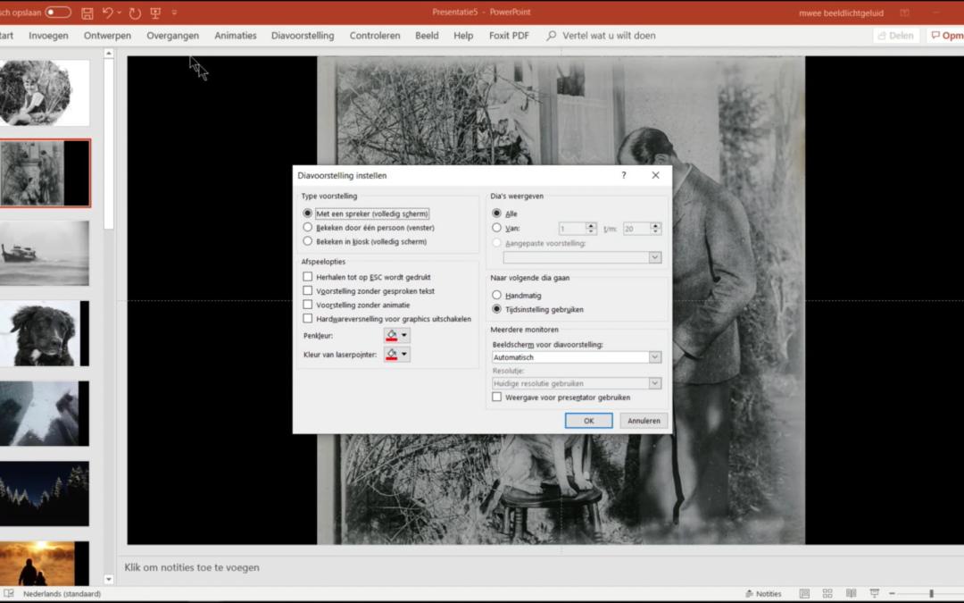 Hoe maak je een slideshow zonder ergernis